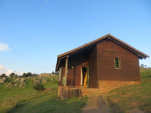 Our cabin at the Malotoja Nature Reserve in Swaziland